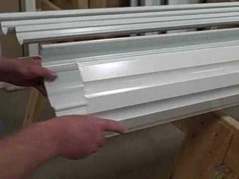 Aluminum Columns 10 Quot Round Fluted Wrap Around Youtube