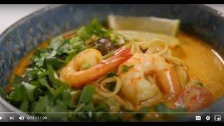SKONIO IŠŠŪKIS | Dovilė Filmanavičiūtė gamina azijietišką sriubą su makaronais ir krevetėmis | 2020