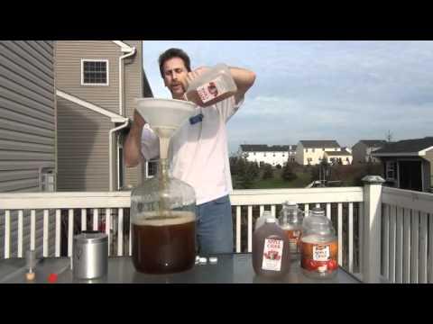 How to make Sweet Hard Cider