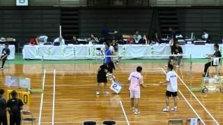 2012吉川正之慎・平田昇(日本大学)VS中村崇亮・鈴木大貴(近畿大学)
