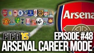 FIFA 15: ARSENAL CAREER MODE #48 - BPL BEGINS AGAIN!