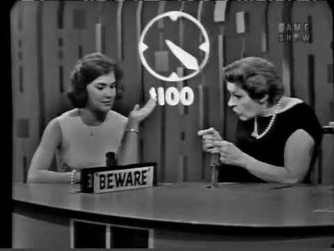 PASSWORD 1965-03-25 Martha Raye & Barry Nelson