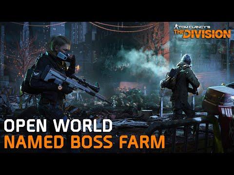 Open World Boss Farm Route - The Division [Part 1]