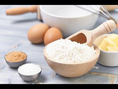 How To Make Cake Flour Recipe Homemade Cake Flour YouTube