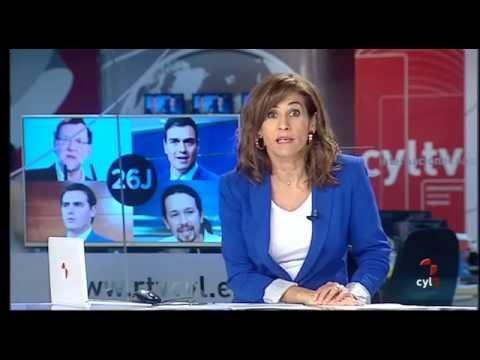 Quinto día de Campaña 26J. Noticias CyLTV 14.30 h. (14/06/2016)