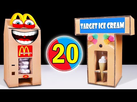 20 Amazing Things You Can Do at Home from Cardboard