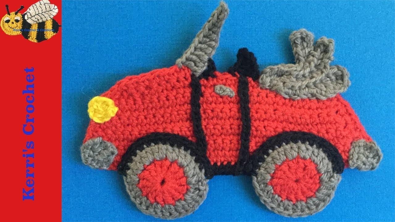 Crochet Lique Tutorial Car