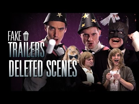 Deleted Scenes From Batman, Harry Potter and Hunger Games | Fake Trailers | Parody