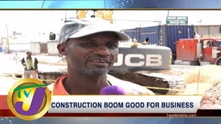 TVJ News Today: Construction Boom - Financial Week - June 7 2019