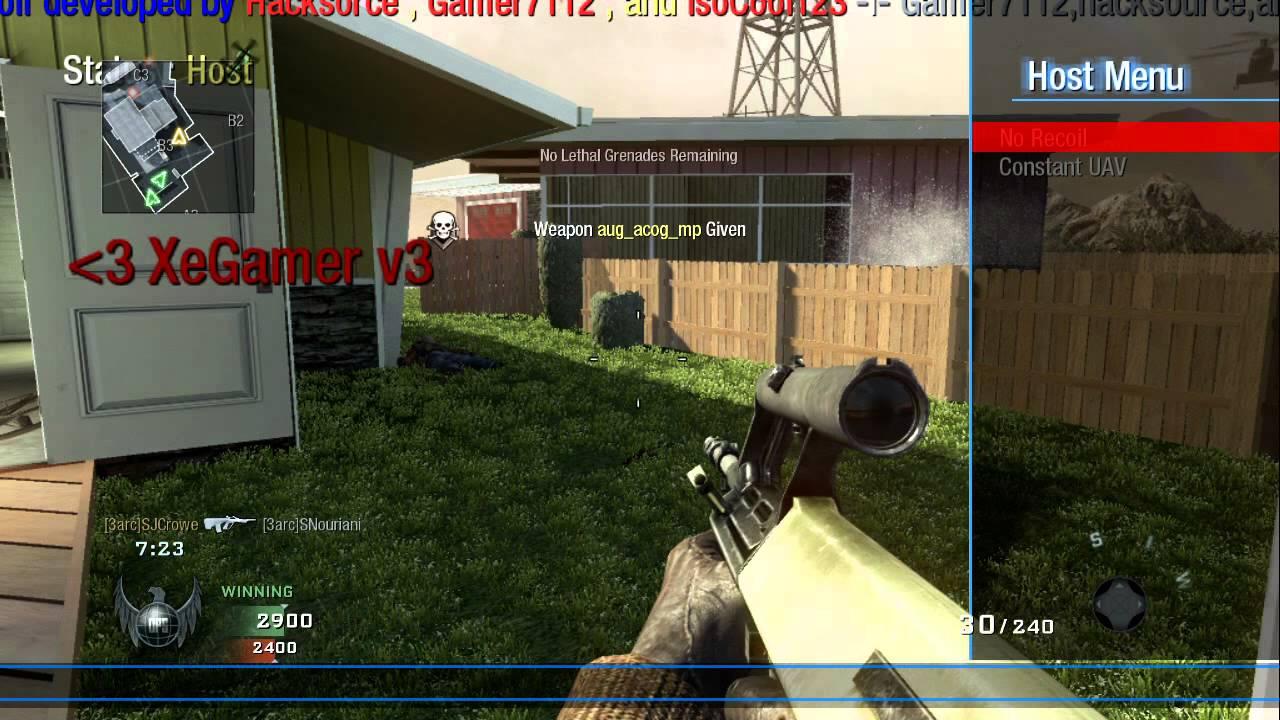 Mod Menu - BO1 Mod Menu | Se7enSins Gaming Community