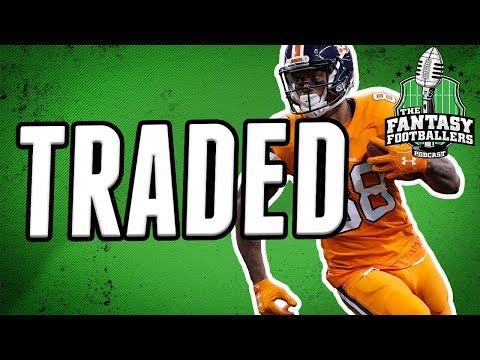 Demaryius Thomas Traded to the Texans! | Fantasy Football Impact