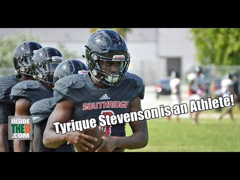 Southridge 2019 DB Tyrique Stevenson Showcases Athleticism in Practice