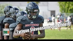 Southridge 2019 DB Tyrique Stevenson Showcases Athleticism in Practice