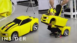 Costumes Turn Kids Into Transformers