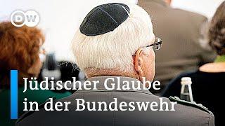 Amtseinführung des ersten Bundeswehr-Rabbiners Deutschlands   DW Nachrichten