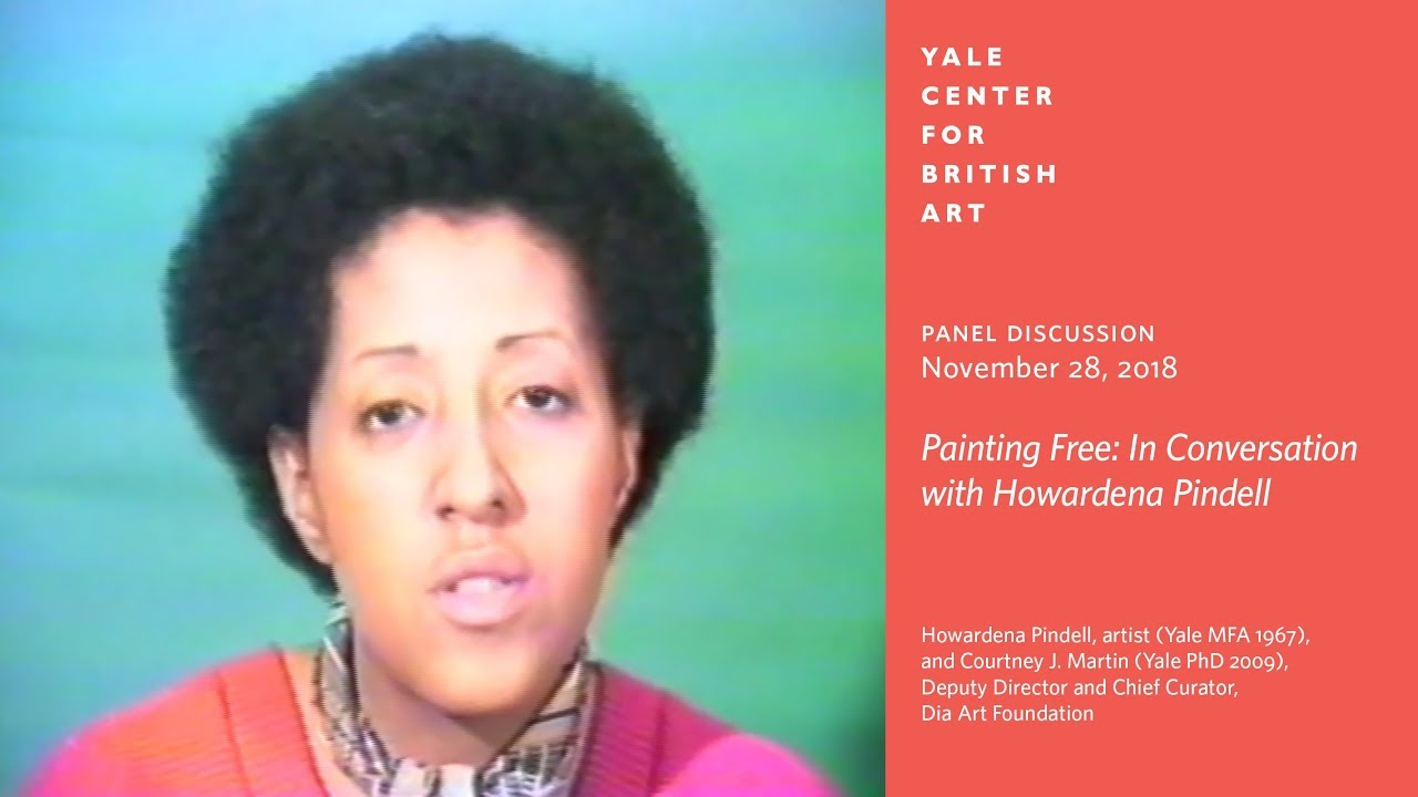 Panel Discussion Painting Free In Conversation With Howardena Pindell Youtube