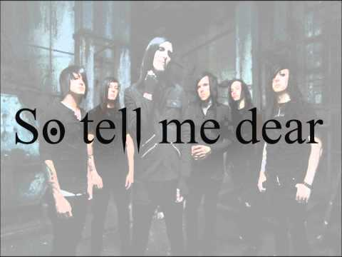 Ghost In The Mirror : Motionless In White Lyrics  HD