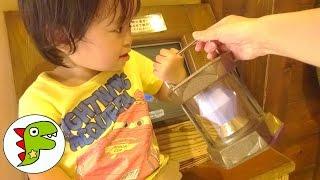 ラグナシアに遊びに行ったよ♫anpanman Toys Baby Doll Popochan チャン...