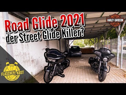 🔍 Test Harley-Davidson Road Glide Special 2021 & Vergleich Street Glide | Review | flaschenkost