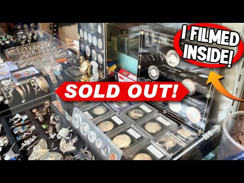 IS MY SILVER COIN SHOP SOLD OUT? (SHOCKING RESPONSE)