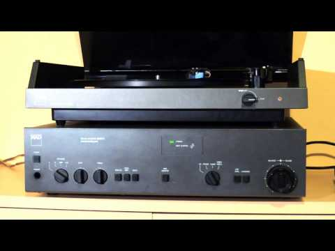 Vintage hifi: NAD 5120 turntable, Ortofon VMS 20E MKII cartridge, NAD 3420PE amp