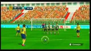 Estrenando FIFA 15 Legacy Edition Wii