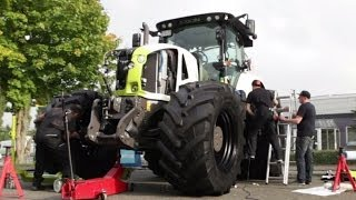 JPs Tractortaxi Episode 2 | Claas Axion | JP Performance | Tractor Taxi | AgrartechnikHD