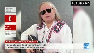 DOLIU în muzica autohtonă! Interpretul Anatol Dumitraş S-A STINS DIN VIAŢĂ