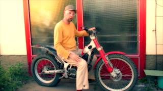 HAPPY BIRTHDAY ON A TRIAL-MOTORCYCLE claus buehler music sound video artist