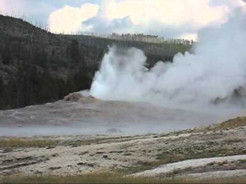 Yellowstone National Park geysers, vents, fumaroles, and springs.