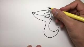 How to draw Pokemon, Snivy, armadillotv