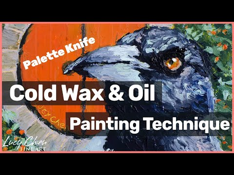 Cold Wax And Oil Painting Techniques