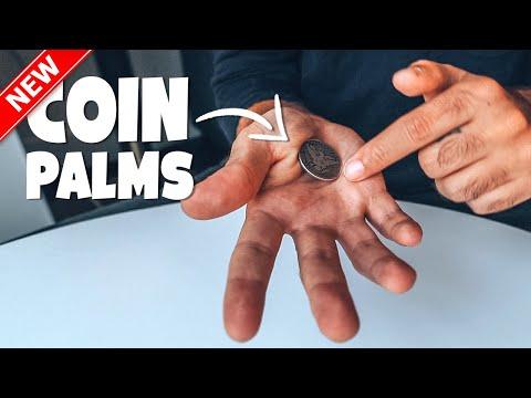 Coin Magic Tutorial - How To Palm Coins Secretly thumbnail