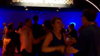 """Swing dancing to """"Blue Suede Shoes"""" at the Blue Moon Ballroom in Rochester, MN"""