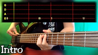 Lou Reed - Walk On The Wild Side Bass Cover (With Tab)