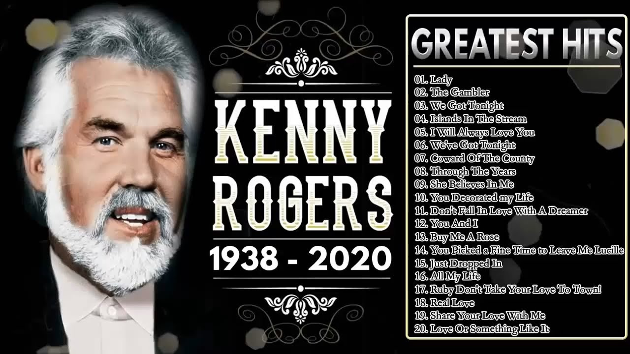 Kenny Rogers Greatest Hits Playlist 🎶 Best Songs Of Kenny Rogers 2020 🎶 Kenny Rogers 1938-2020