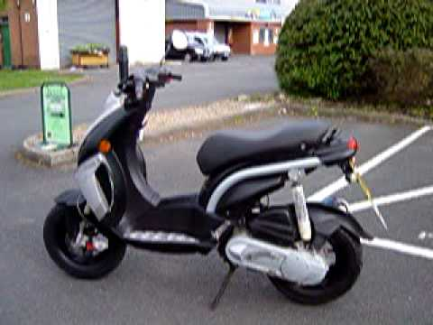 2006 peugeot ludix 10 blaster 50 lc moped fast t t vgc. Black Bedroom Furniture Sets. Home Design Ideas