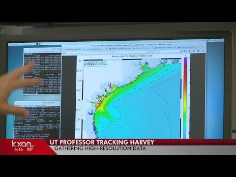 UT Austin supercomputer, professor aid state agencies track Harvey