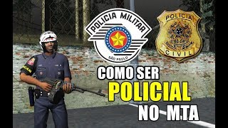 COMO SER POLICIAL NO MTA | PMSP - BVO / SegundaFase