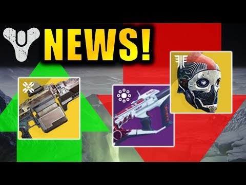 FINALLY! Recluse & One-Eyed Mask NERF! - Next Season Launch Date! | Destiny 2 News