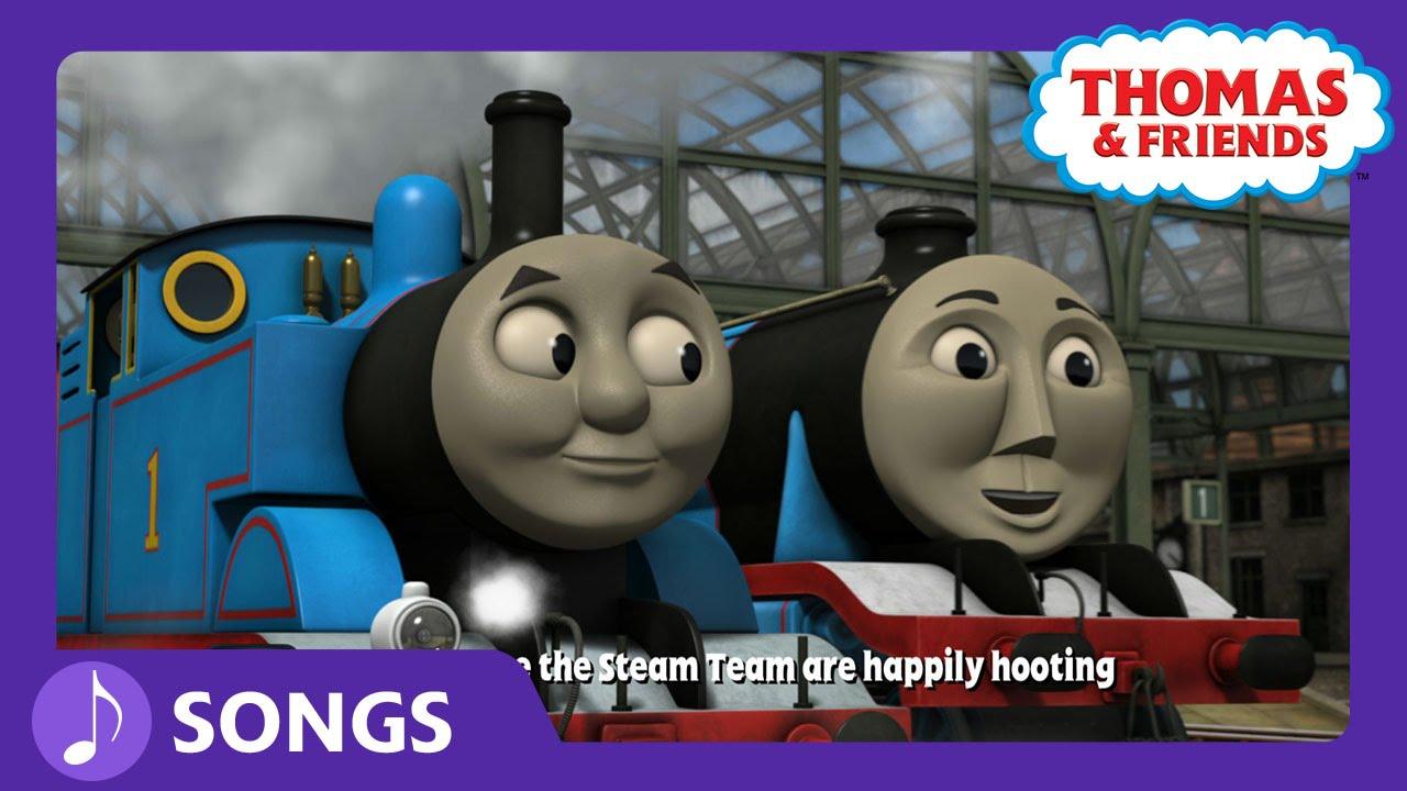 Hey, Hey Thomas!   Steam Team Sing Alongs   Thomas ...