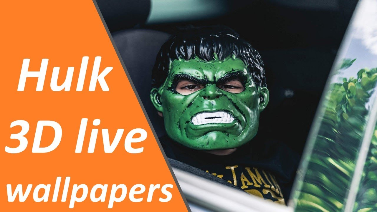 Hulk 3D Live Wallpaper For Mobile