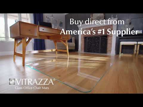 Vitrazza Glass Office Chair Mats Are The Premium Choice