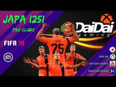 JAPA I25I FIFA 18 Pro Clubs E Sports Vol. 03 - Dai Dai Academy