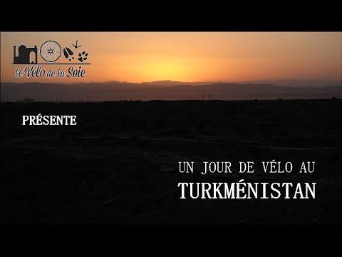 Un jour de vélo au Turkménistan - A cycling day in Turkmenistan (ENGsubs)