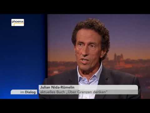 Im Dialog: Michael Hirz im Gespräch mit Julian Nida-Rümelin am 16.06.2017