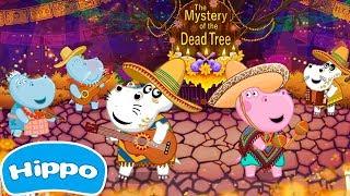 Гиппо 🌼 Dia de los Muertos: День мертвых 🌼 Серия-2 🌼Мультик игра для детей (Hippo)