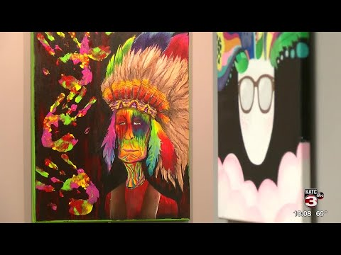 Lafayette gallery holds final exhibition of Comeaux arts students work