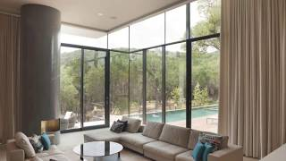 Floor to Ceiling Windows Decorating Ideas