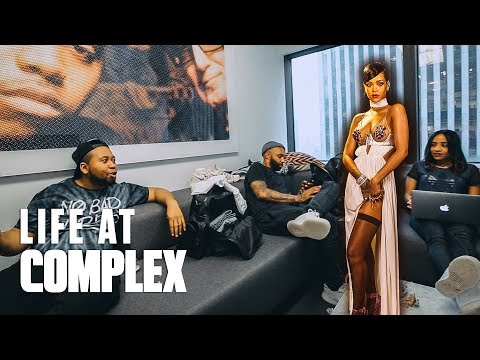 WHAT WOULD YOU SAY TO RIHANNA? | #LIFEATCOMPLEX